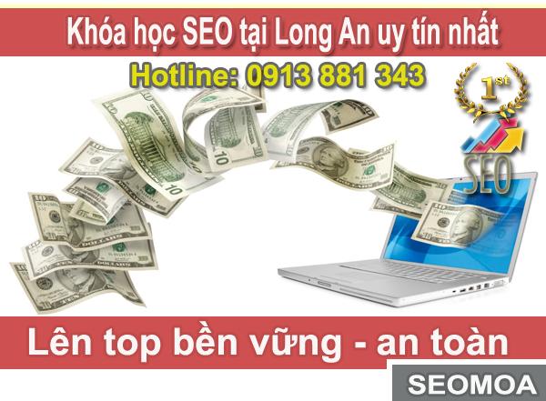 khoa hoc seo tai long an
