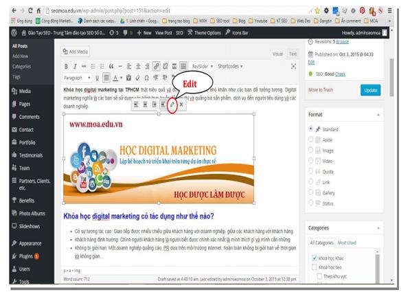 Tối ưu hình ảnh trong wordpress